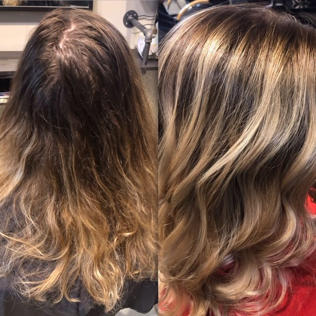 The Art of Balayage at Precision Styling