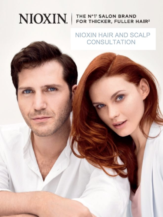 Try the Nioxin Consultation for Thicker Fuller Hair